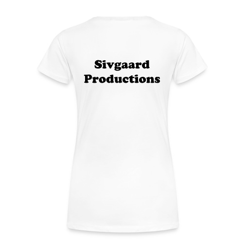 Sivgaard Productions T-shirt mænd - Dame premium T-shirt