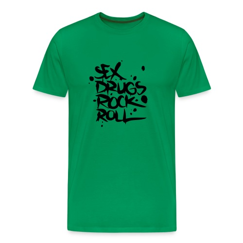 Sex, drugs and Rock 'n' roll - Männer Premium T-Shirt