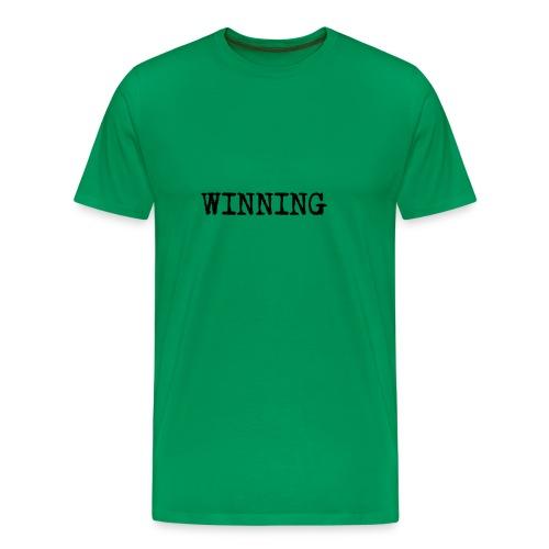 WINNING (men) - Men's Premium T-Shirt