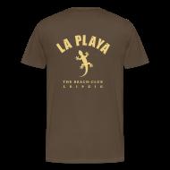 T-Shirts ~ Männer Premium T-Shirt ~ Freibeuter + Backprint