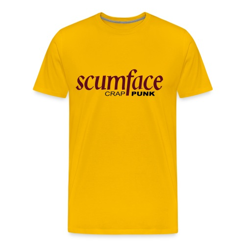Scumface Buckfast T-Shirt (Yellow) - Men's Premium T-Shirt