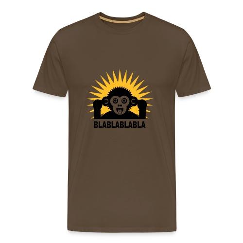 Bla bla bla Ape shirt - Männer Premium T-Shirt
