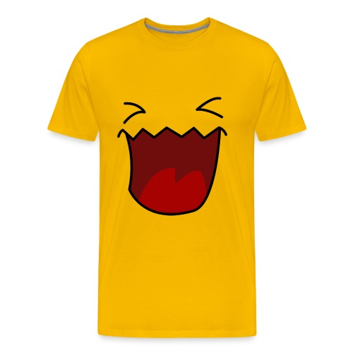 Laughing Monster - Männer Premium T-Shirt
