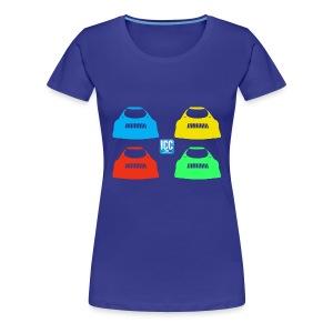 T-shirt Ligne ST11 AF - T-shirt Premium Femme