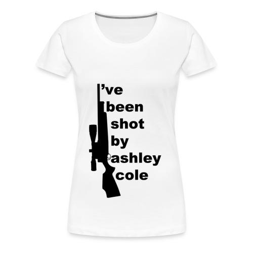 I've been shot by (women) - Women's Premium T-Shirt
