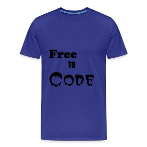 Free to Code - Men's Premium T-Shirt