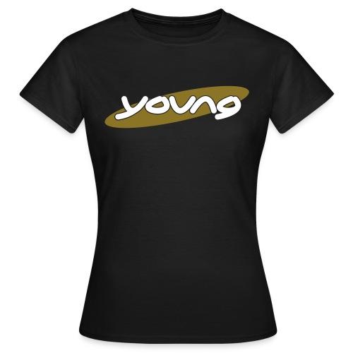 young Girlshirt chocolate - Frauen T-Shirt