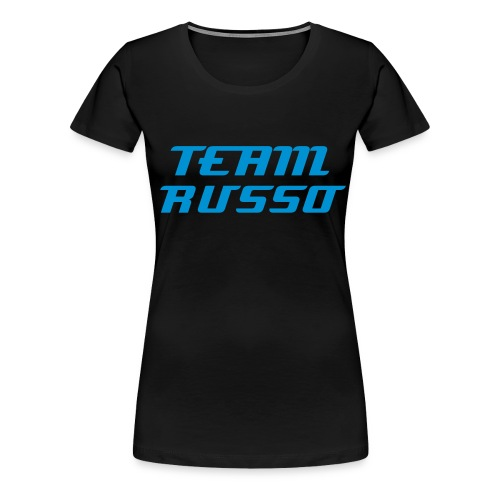 Women's Blue TEAM RUSSO T-Shirt - Women's Premium T-Shirt