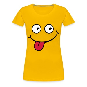 SILLY FACE LADIE;S T-SHIRT - Women's Premium T-Shirt