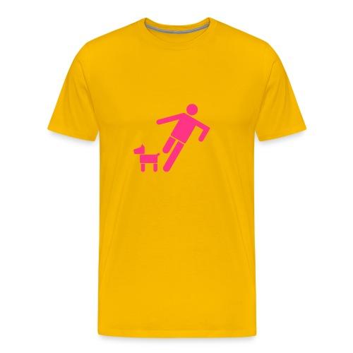 Kick Dog - Men's Premium T-Shirt