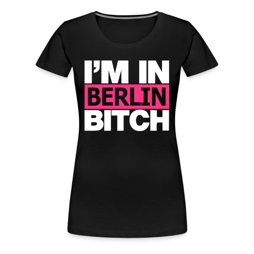 Frauen Premium T-Shirt - BERLIN