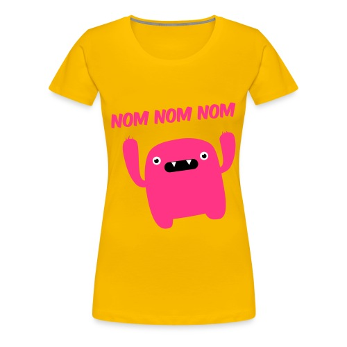 NOM! - Women's Premium T-Shirt