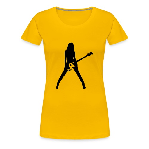 Girly shirt Guitar Player - Frauen Premium T-Shirt
