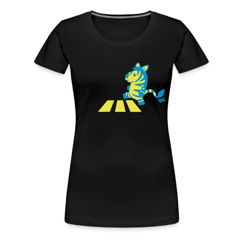 Font:  - Frauen Premium T-Shirt