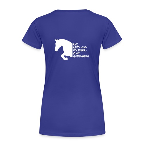 Frauen-Girlie Shirt RVC Gutenberg - Frauen Premium T-Shirt