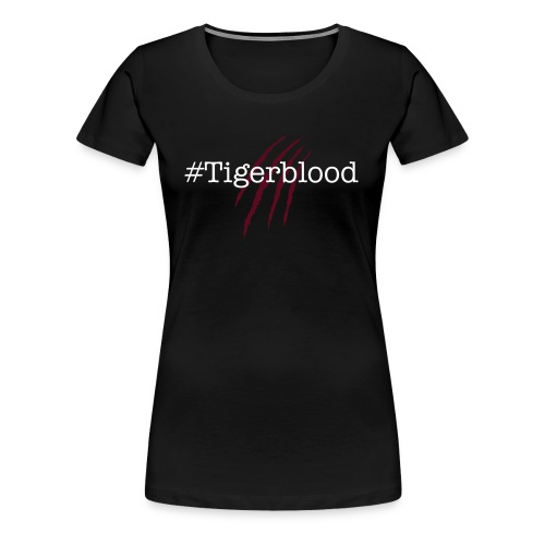 #Tigerblood Female Black - Women's Premium T-Shirt