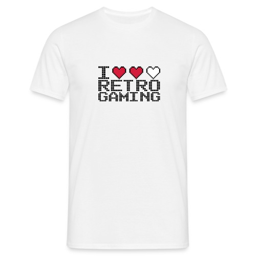 I love Retro Gaming - T-shirt Homme