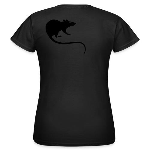 Frauen Shirt Ratte Maus Nagetier Nager Tiershirt Shirt Tiermotiv - Frauen T-Shirt