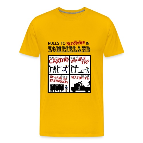 Zombieland - rules to survive - Camiseta premium hombre