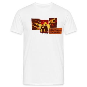 Cool Guys Don't Look at Explosions - Men's T-Shirt