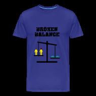 Camisetas ~ Camiseta premium hombre ~ Breaking Bad - broken balance