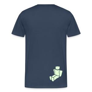 In The Beginning - Men's Big N' Tall Dark T-Shirt - Men's Premium T-Shirt