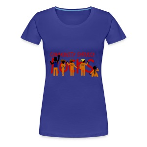 Misfits - community service rocks - Camiseta premium mujer