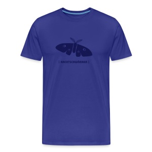 Männer Shirt Motte Nachtschwärmer navy Tiershirt Shirt Tiermotiv - Männer Premium T-Shirt