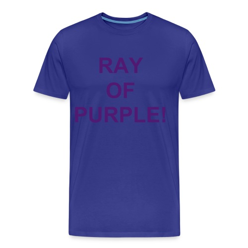 Ray Of Purple! - Men's Premium T-Shirt