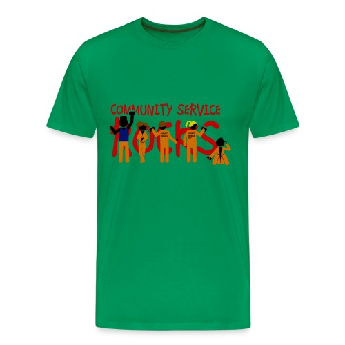 Misfits - community service rocks - Camiseta premium hombre