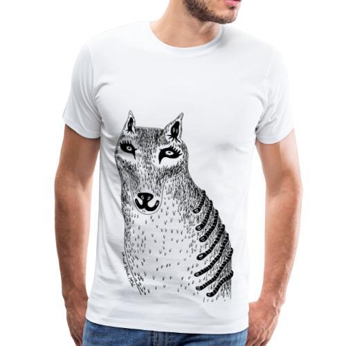 Sandra Barth Beutelwolf - Männer Premium T-Shirt