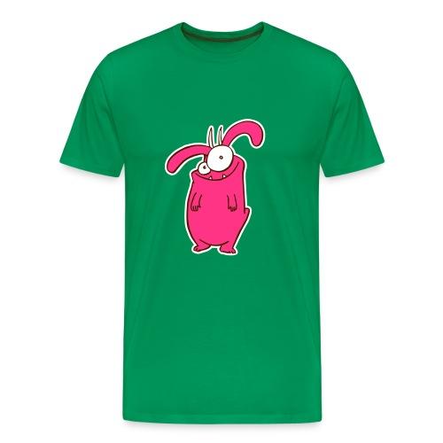 Monsta pink - Männer Premium T-Shirt