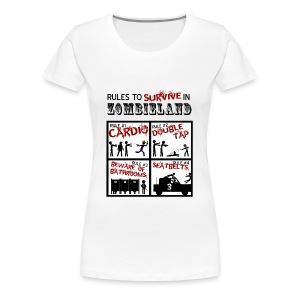 Zombieland - rules to survive - Camiseta premium mujer