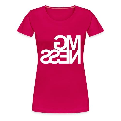 MGness Ruby White female - Frauen Premium T-Shirt