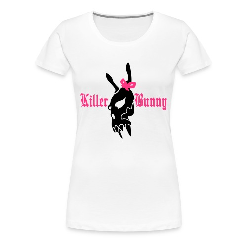 Killer Bunny - Women's Premium T-Shirt