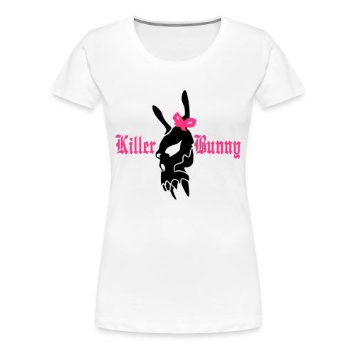 Killer Bunny - Women's Premium T-Shirt
