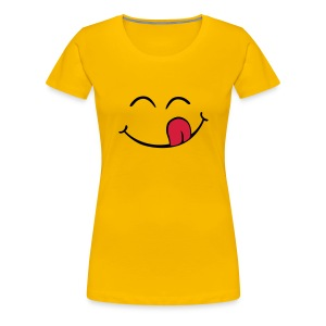 Women's Yellow Girlie T-Shirt - Women's Premium T-Shirt