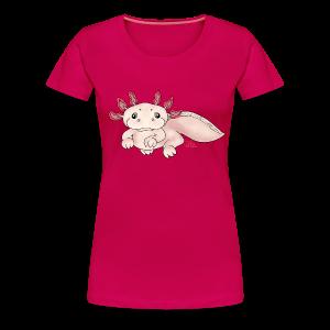 Axenia Axolotl  - Frauen Premium T-Shirt