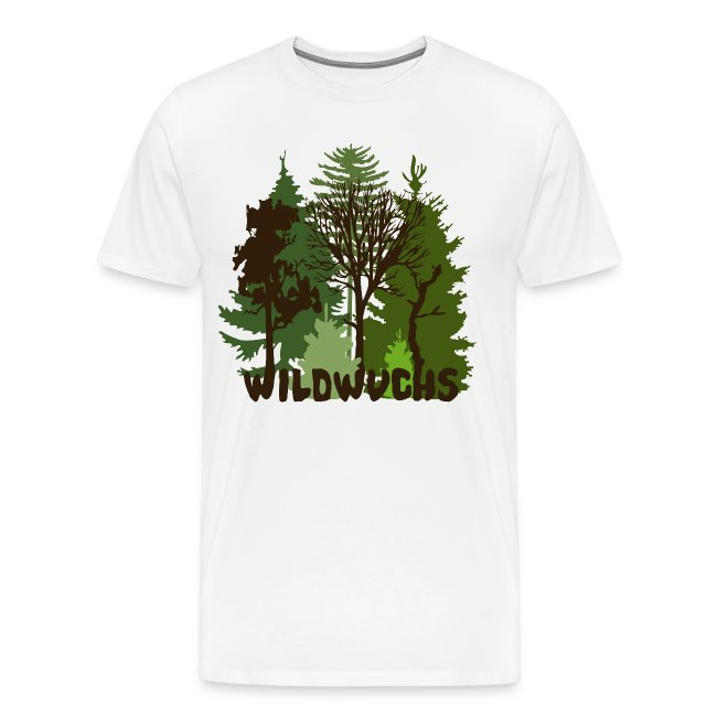 421d3593ad88a2 Herren Shirt Wald Baum Bäume Wild Wildwuchs Tiershirt Shirt Tiermotiv