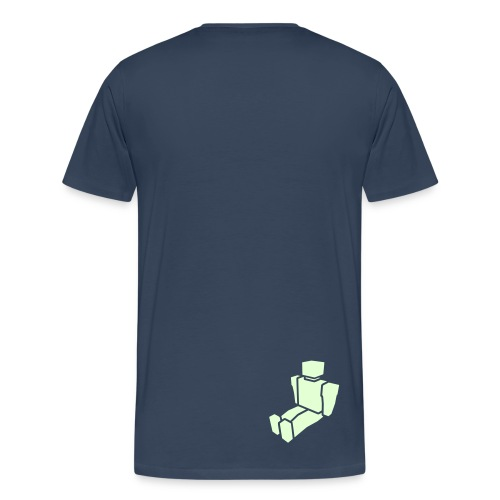 Big Fish - Men's Big N' Tall Dark T-Shirt - Men's Premium T-Shirt
