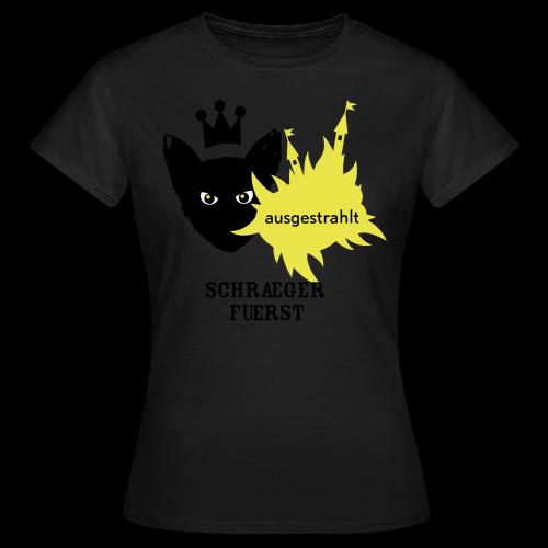girlieshirt, ausgestrahlt - Frauen T-Shirt