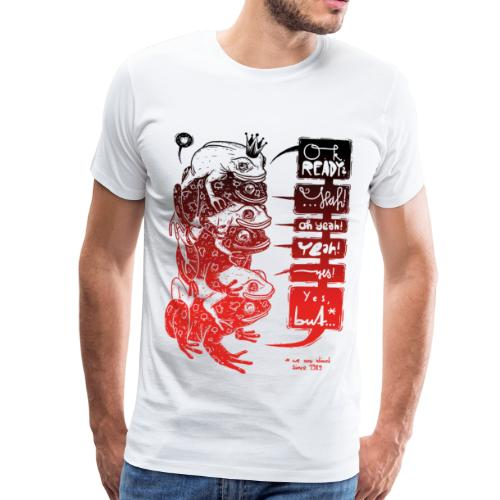 Peachbeach Goldkröte - Männer Premium T-Shirt