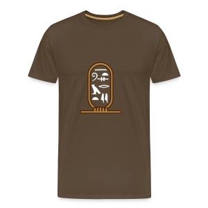 Egyptian Cartouche - Men's Premium T-Shirt