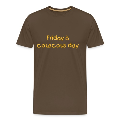 T-shirt Couscous day - T-shirt Premium Homme