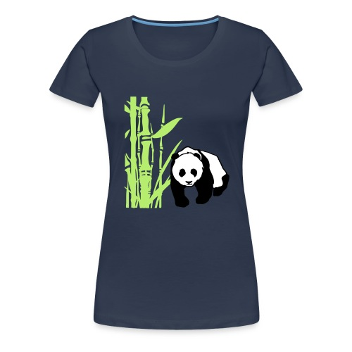 Pandabär ! - Frauen Premium T-Shirt