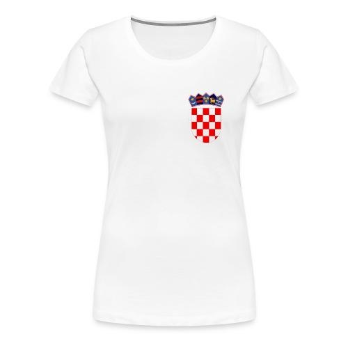 Croatia 1 - Women's Premium T-Shirt