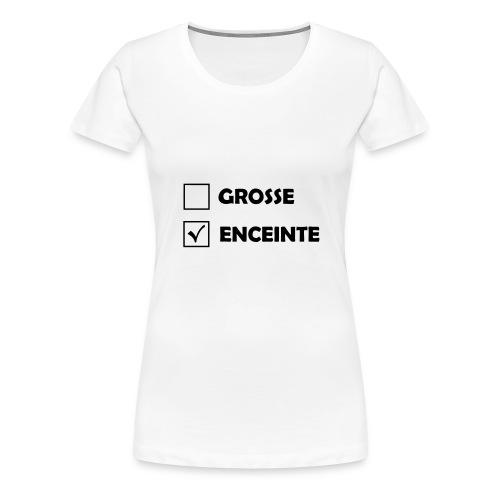 T-shirt Premium Femme - t-shirt grossesse