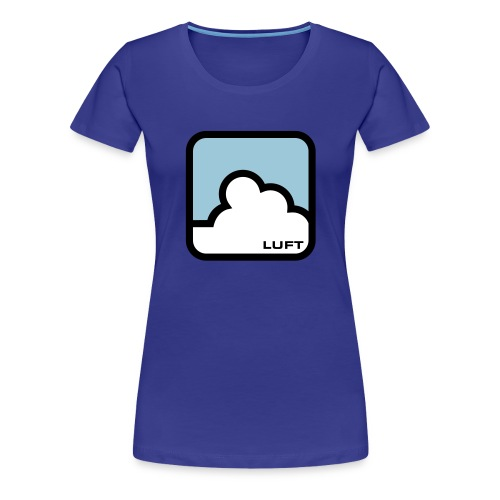 ELEMENTS - AIR (WOMENS TIGHT FITTED T-SHIRT) - Women's Premium T-Shirt