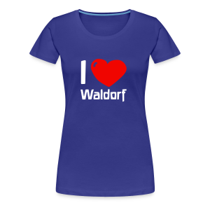 I love Waldorf Girlie Shirt - Frauen Premium T-Shirt