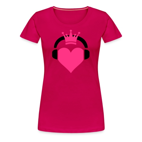 Girly T Love Music Princess - Women's Premium T-Shirt